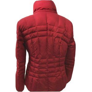Calvin Klein Red Puffer Duck Down Jacket M